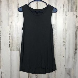 Banana Republic | Dark Grey Tunic Tank Top Small